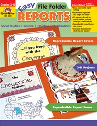 Easy File Folder Reports 3-6