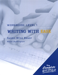 Writing With Ease - Workbook Level 1