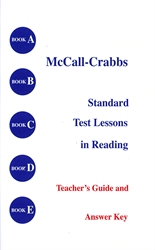McCall-Crabbs Books A-E - Teacher's Guide & Answer Key