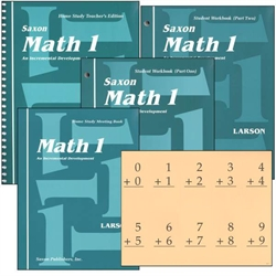 Saxon Math 1 - Home Study Kit