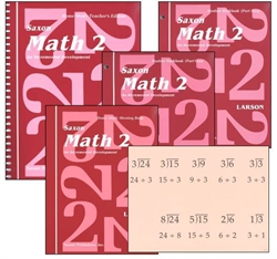 Saxon Math 2 - Home Study Kit - Exodus Books