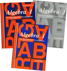 Saxon Algebra 1 - Home Study Kit