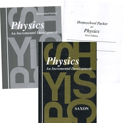 Saxon Physics - Home Study Kit