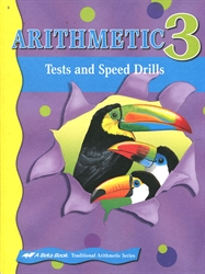Arithmetic 3 - Tests/Speed Drills