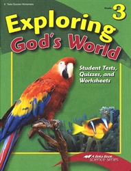 Exploring God's World - Test/Quiz Book - Exodus Books