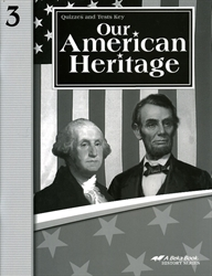 Our American Heritage - Test/Quiz Key