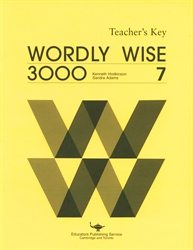 Wordly wise 3000 book 7 lesson 11 answers