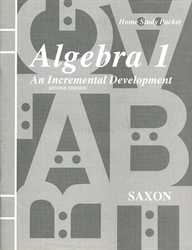 Saxon Algebra 1 - Answer Key only (old)