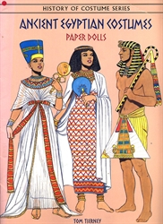 Ancient Egyptian Costumes - Paper Dolls