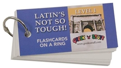 Latin's Not So Tough! 1 - Flashcards