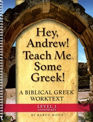 Hey, Andrew! Teach Me Some Greek! 1 - Answer Key