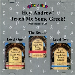 Hey, Andrew! Teach Me Some Greek! 1-2 - Pronunciation CD - Exodus Books