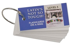 Latin's Not So Tough! 3 - Flashcards