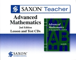 Saxon Advanced Math - Teacher CD-ROM