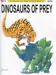 Dinosaurs of Prey - Coloring Book