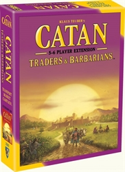 Catan: Traders & Barbarians - 5-6 Player Expansion