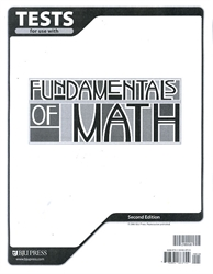 Fundamentals of Math - Tests