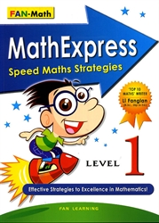 Math Express Speed Math Strategies - Level 1