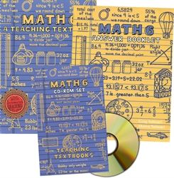 Teaching Textbooks Math 6 - Complete Set