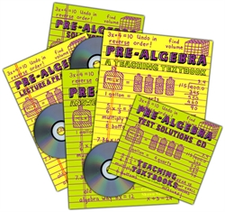 Teaching Textbooks Pre-Algebra - Complete Set (old)