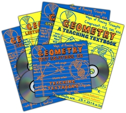 Teaching Textbooks Geometry - Complete Set (old)