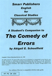 Comedy of Errors - Student's Companion