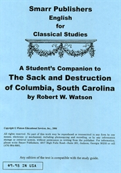 Sack and Destruction of Columbia, South Carolina - Student's Companion