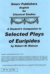 Selected Plays of Euripides - Student's Companion