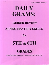 Daily Grams for 5th and 6th Grades