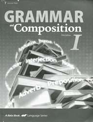 Grammar and Composition I - Test/Quiz Book