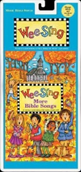 Wee Sing More Bible Songs - Book & CD