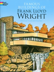 Famous Buildings of Frank Lloyd Wright - Coloring Book