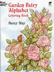 Garden Fairy Alphabet - Coloring Book