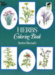 Herbs - Coloring Book