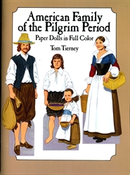 American Family of the Pilgrim Period - Paper Dolls