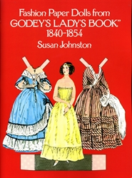 Fashions from Godey's Lady's Book 1840-1854 - Paper Dolls