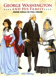 George Washington and His Family - Paper Dolls