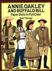 Annie Oakley and Buffalo Bill - Paper Dolls