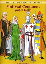Medieval Costumes - Paper Dolls