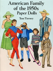 American Family of the 1950s - Paper Dolls
