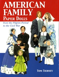 American Family - Paper Dolls