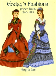 Godey's Fashions - Paper Dolls