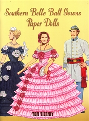 Southern Belle Ball Gowns - Paper Dolls