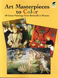 Art Masterpieces to Color - Exodus Books