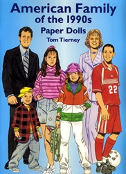 American Family of the 1990s - Paper Dolls