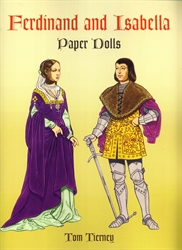 Ferdinand and Isabella - Paper Dolls