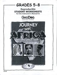 Journey into Africa - Student Worksheets (5-8)