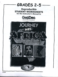 Journey into Africa - Student Worksheets (2-5)