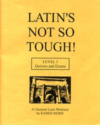 Latin's Not So Tough! 1 - Quizzes & Exams