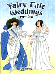 Fairy Tale Weddings - Paper Dolls - Exodus Books